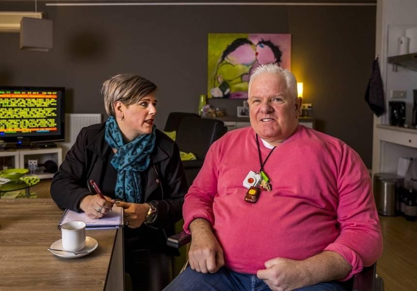 Ron en Ginny Rutten, cliënt en naaste